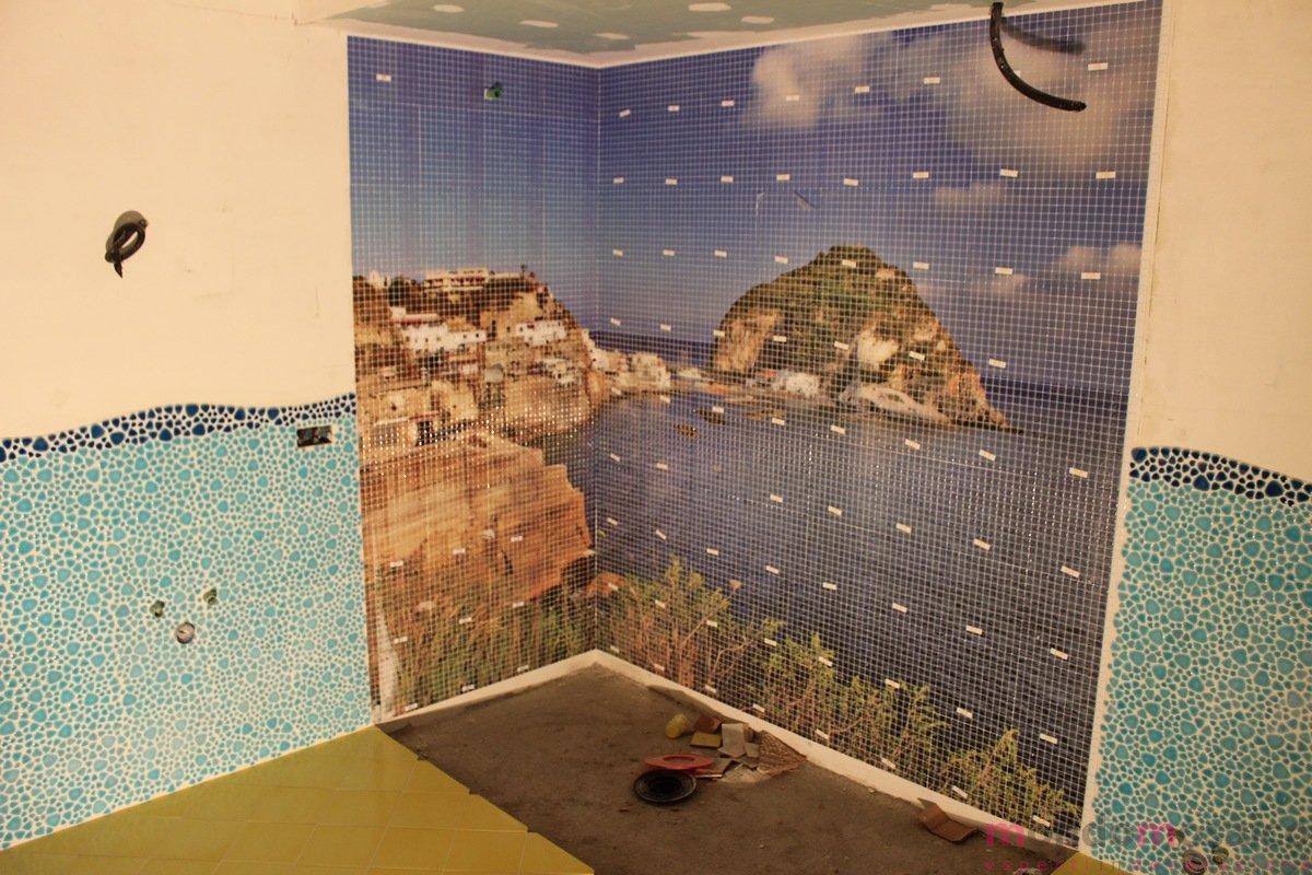 Doccia con mosaico sant angelo mondo mosaico italia - Mosaici per doccia ...