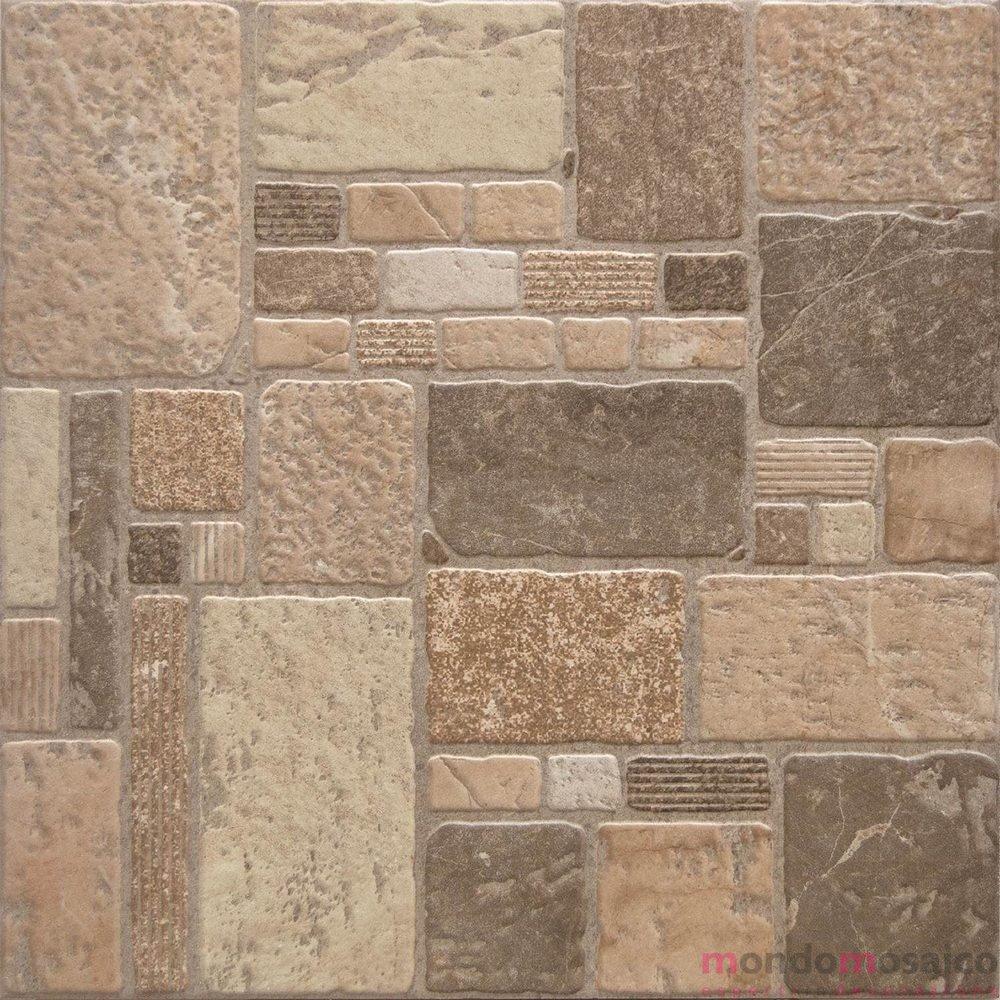 Esmeralda beige 45 45 antiscivolo mondo mosaico italia - Pavimento exterior antideslizante ...