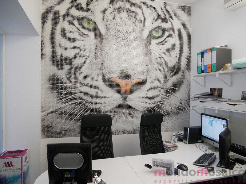 tigre in mosaico
