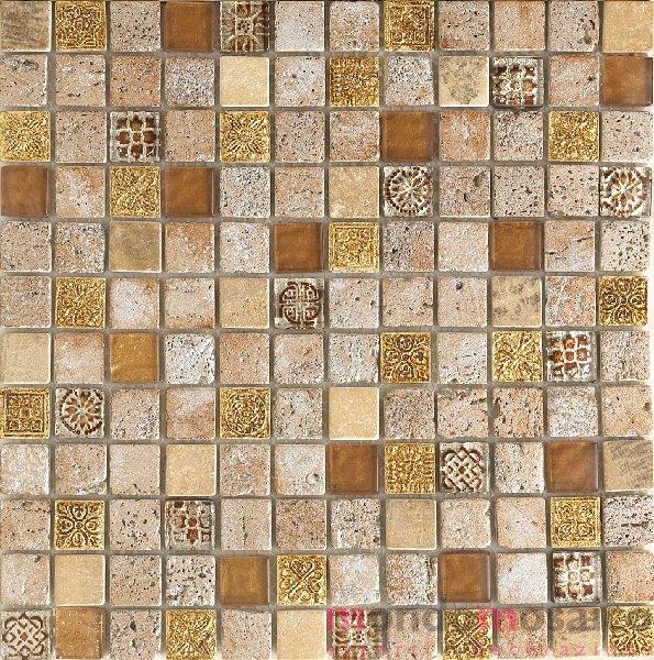 Mosaicoi beige stile impero