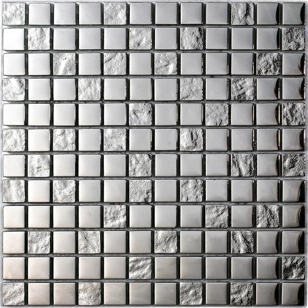 mosaico argento silver