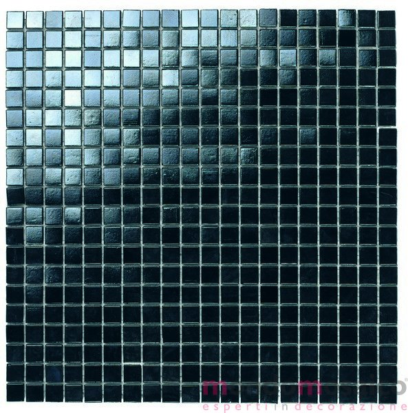 mosaico economico nero