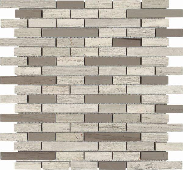 mosaico grigio a listieeli