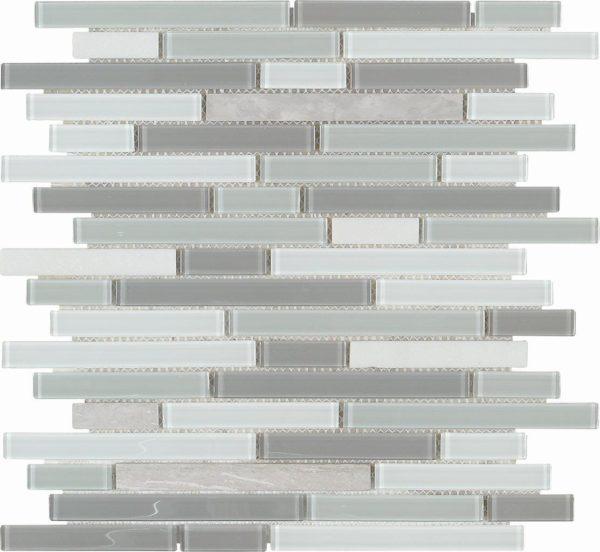 mosaico grigio per cucine