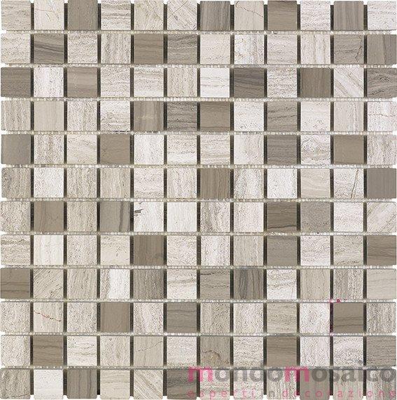 mosaico in marmo grigio