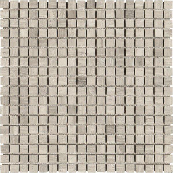 mosaico in maromo grigio