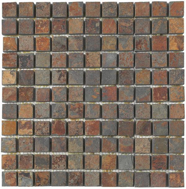 mosaico marrone antico