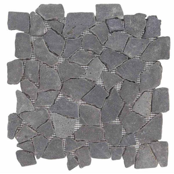 palladiana in pietra nera