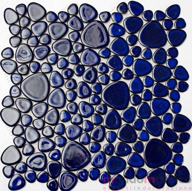 ciottoli blu