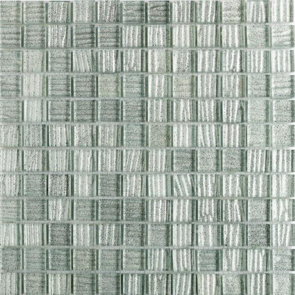 mosaico bianco glitterato