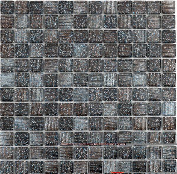 mosaico mix nero glitterato
