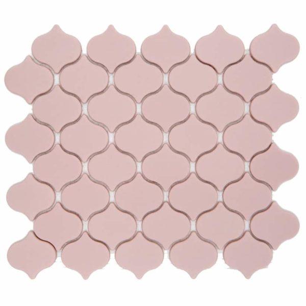 mosaico arabo rosa