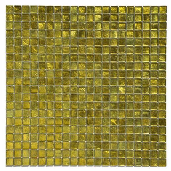 Mosaico vetro giallo
