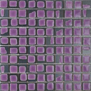 mosaico macchia viola