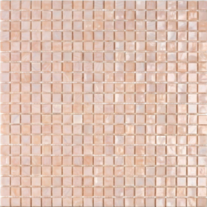 mosaico rosa cipria